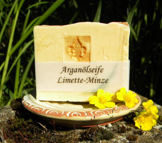 Arganölseife Limette-Minze